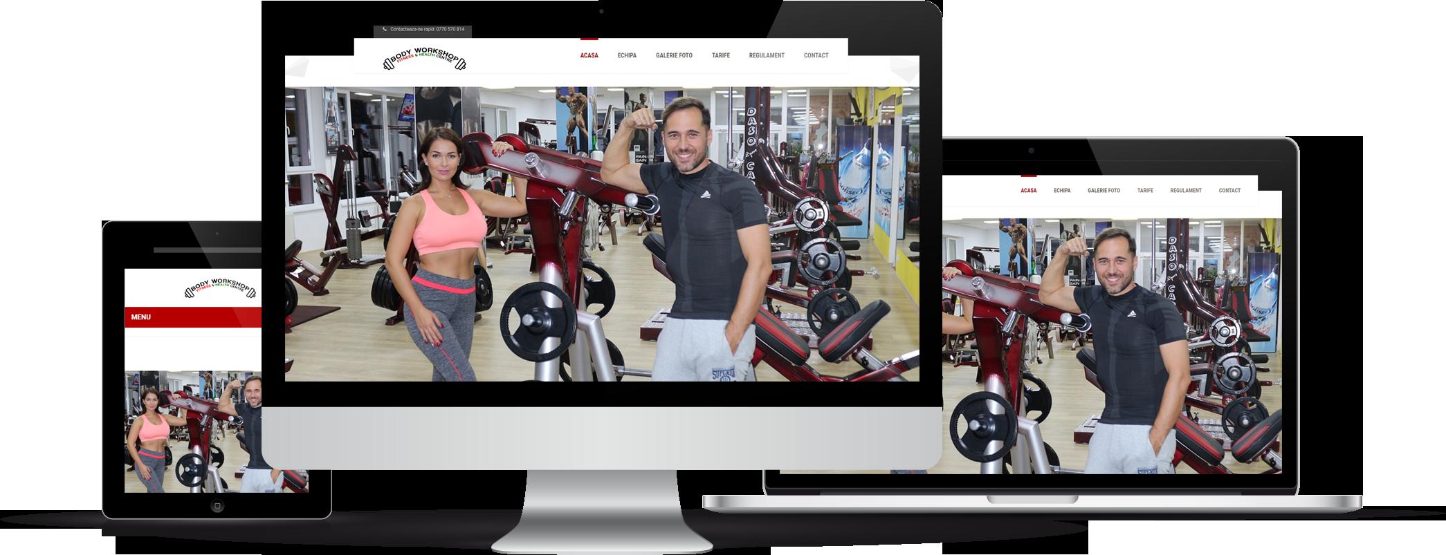 website cu design responsive
