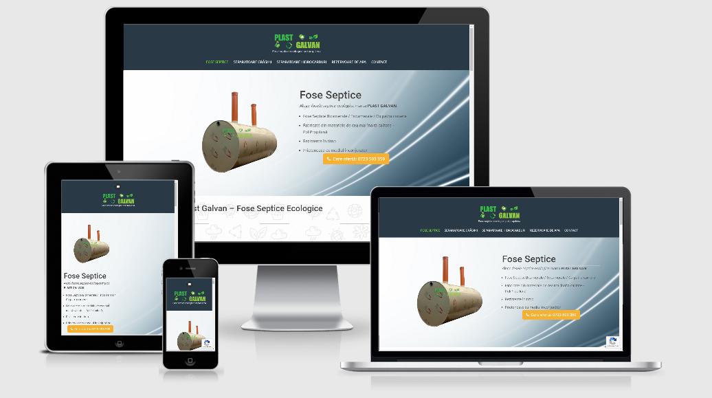 creare catalog online fose septice