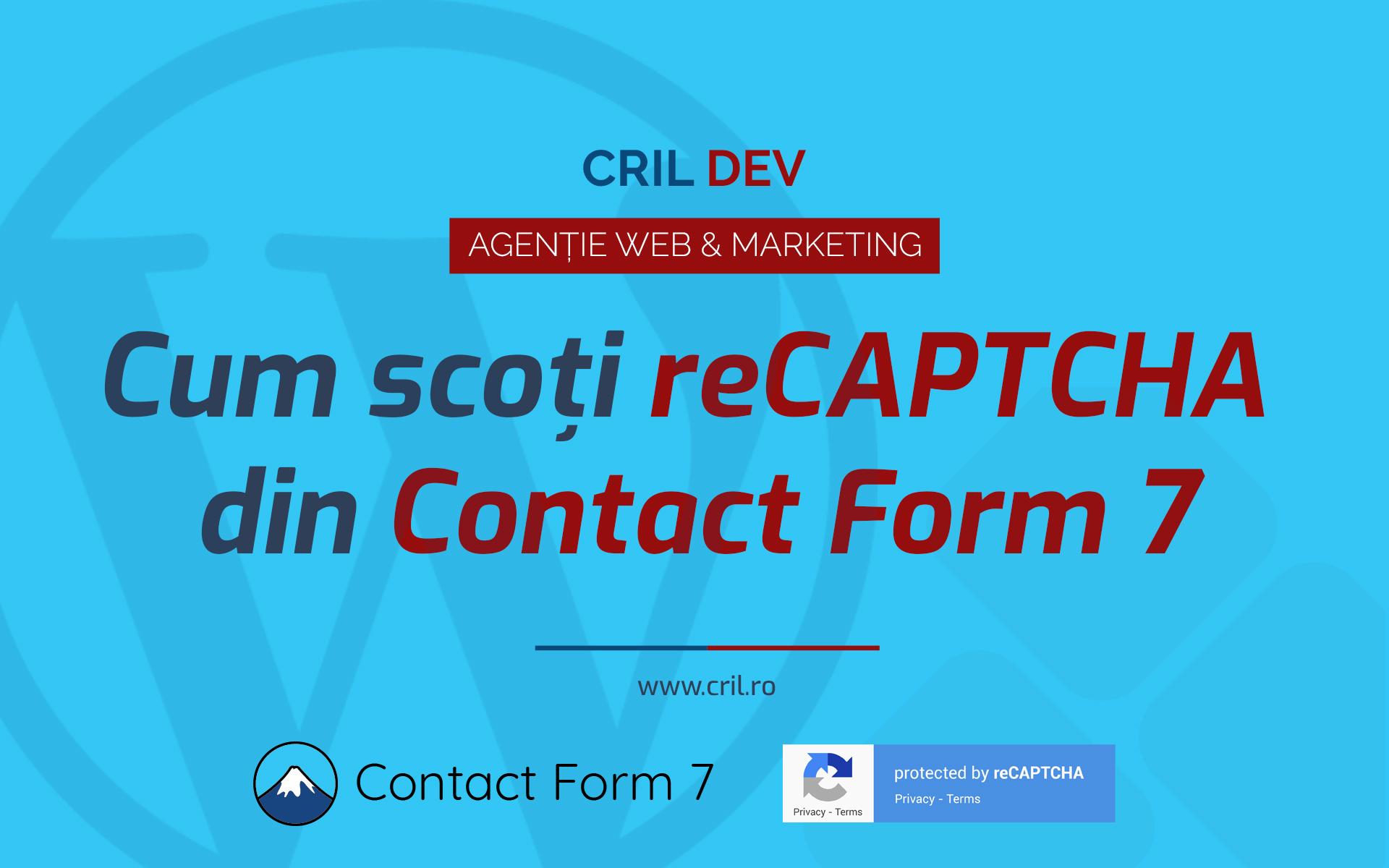 Cum Scot Sigla Recaptcha Contact Form 7
