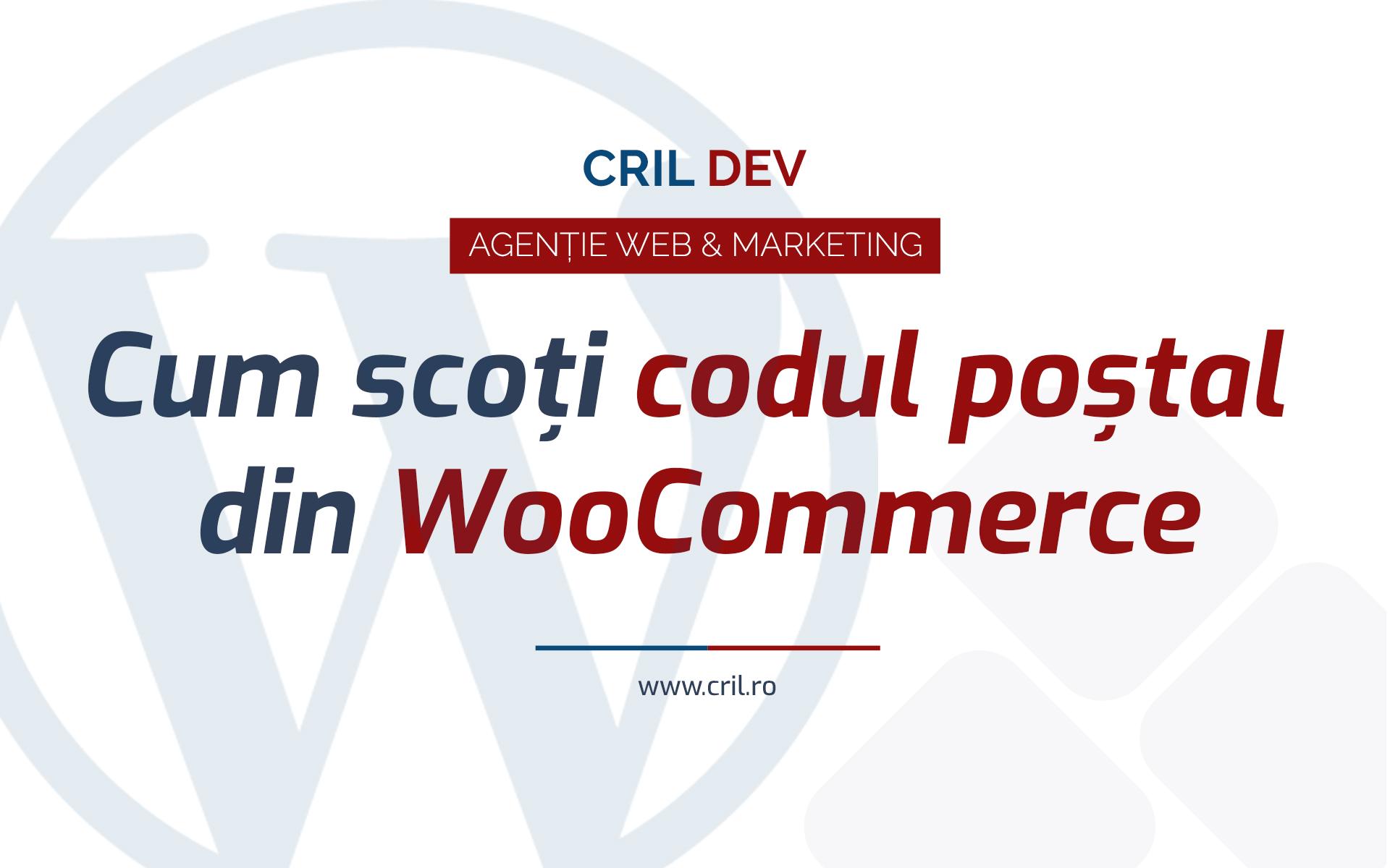 Cum Scoti Codul Postal Din Wordpress Woocommerce